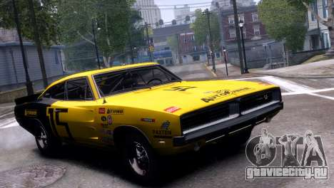 Dodge Charger RT 1969 EPM для GTA 4 вид слева