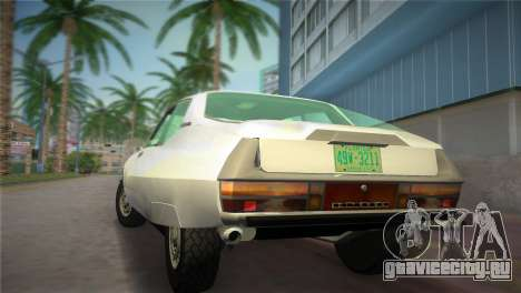 Citroen SM 1972 для GTA Vice City вид слева
