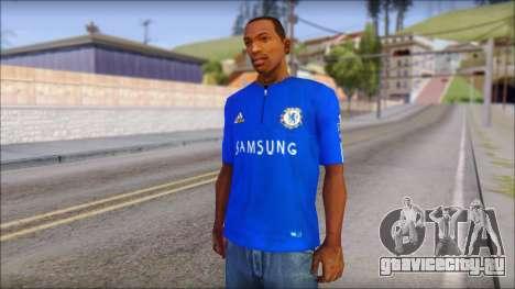 Chelsea F.C Drogba 11 T-Shirt для GTA San Andreas