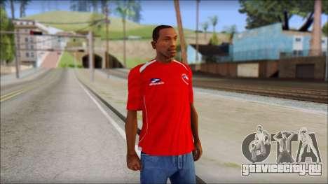 Chile T-Shirt для GTA San Andreas