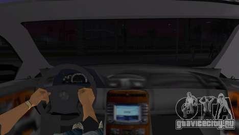 Mercede-Benz CL65 AMG Limousine для GTA Vice City вид сзади слева