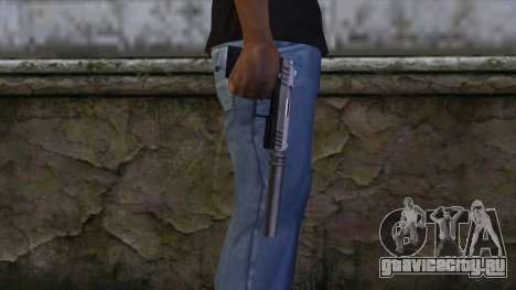 Silenced Combat Pistol from GTA 5 для GTA San Andreas третий скриншот