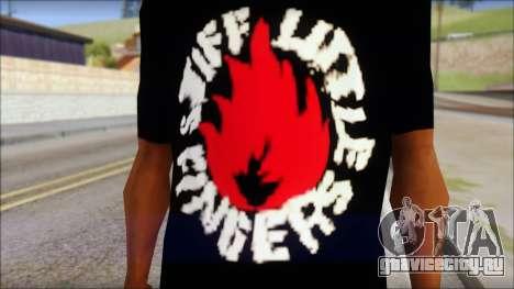 Stiff Little Fingers T-Shirt для GTA San Andreas третий скриншот