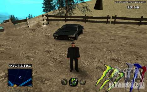C-HUD Monster Energy для GTA San Andreas