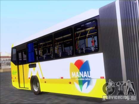 Прицеп Neobus Mega BRT Volvo B12-340M для GTA San Andreas вид справа