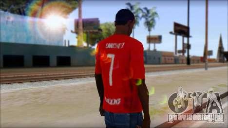 Seleccion Chilena T-Shirt 2010 для GTA San Andreas второй скриншот