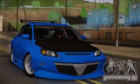 Mazda Speed 3 Tuning для GTA San Andreas