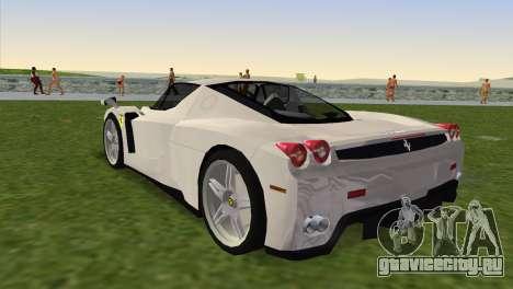 Ferrari Enzo 2003 для GTA Vice City вид слева
