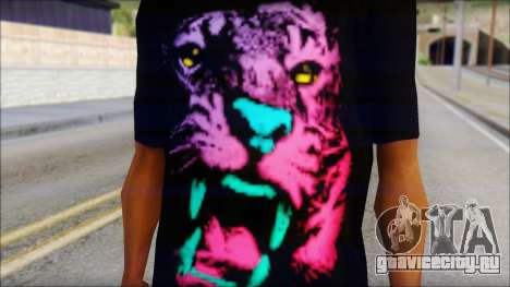 Wild POP Thing Shirt для GTA San Andreas третий скриншот