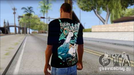 Eskimo Callboy Fan T-Shirt для GTA San Andreas второй скриншот