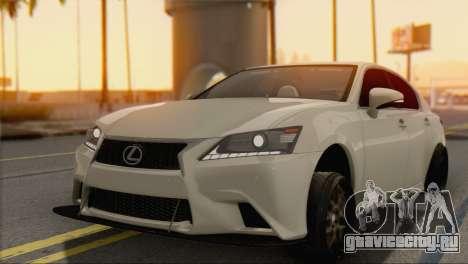Lexus GS350 для GTA San Andreas вид слева