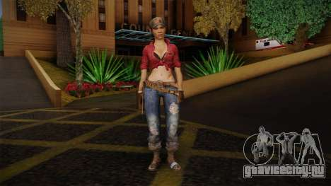 Misty from Call of Duty: Black Ops для GTA San Andreas