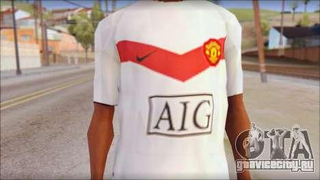 Manchester United Shirt для GTA San Andreas третий скриншот
