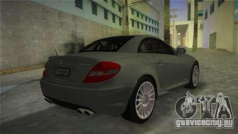 Mercedes-Benz SLK55 AMG для GTA Vice City вид слева