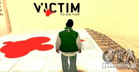 Grove Street Gang Skin pack для GTA San Andreas второй скриншот