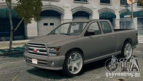 GTA V Bravado Bison для GTA 4