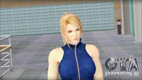 Sarah from Dead or Alive 5 v2 для GTA San Andreas третий скриншот