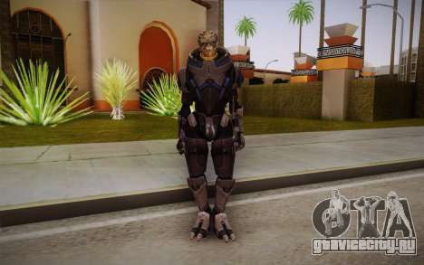 Garrus from Mass Effect 3 для GTA San Andreas
