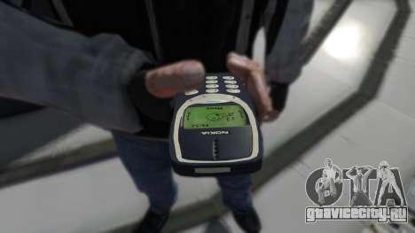 NOKIA 3310 для GTA 4 второй скриншот