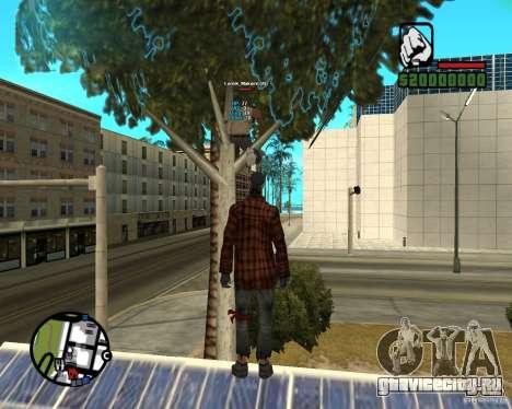 Players Informer для GTA San Andreas второй скриншот