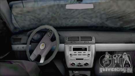 Chevrolet Cobalt SS для GTA San Andreas вид сзади слева