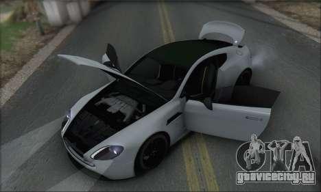 Aston Martin V12 Vantage S 2013 для GTA San Andreas салон