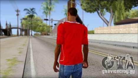 Chile T-Shirt для GTA San Andreas второй скриншот