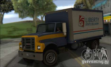 GTA IV Yankee для GTA San Andreas