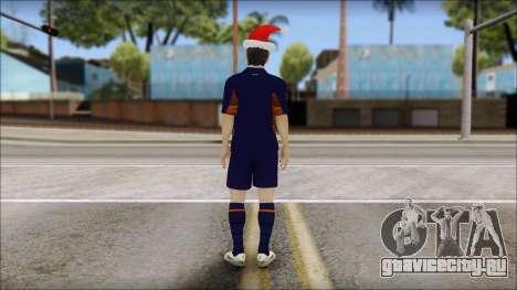 Messi Arsenal Christmas Special для GTA San Andreas второй скриншот