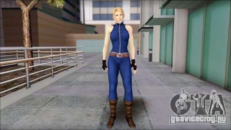 Sarah from Dead or Alive 5 v2 для GTA San Andreas
