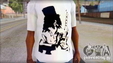 Slash T-Shirt для GTA San Andreas третий скриншот