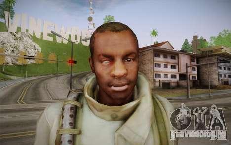 Shona from Resident Evil Operation Raccoon City для GTA San Andreas третий скриншот