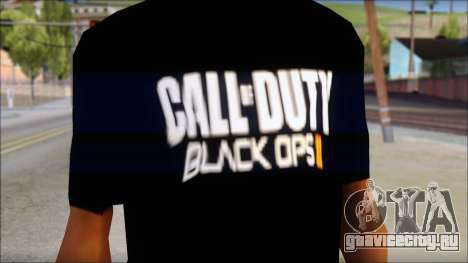 COD Black Ops 2 Fan T-Shirt для GTA San Andreas третий скриншот