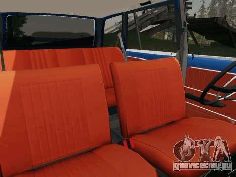 ВАЗ 21032 для GTA San Andreas вид сверху