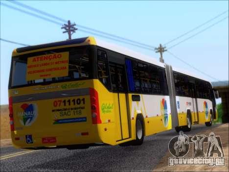 Прицеп Neobus Mega BRT Volvo B12-340M для GTA San Andreas вид изнутри