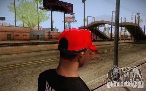 Super Mario Cap для GTA San Andreas второй скриншот