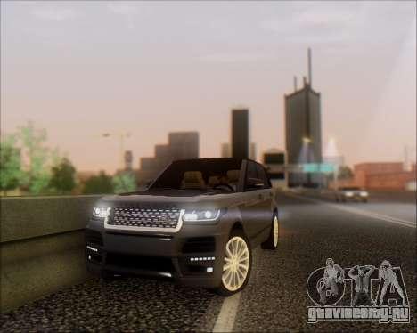 Land Rover Range Rover Startech для GTA San Andreas