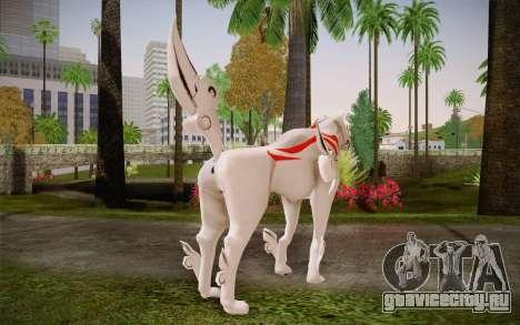 Amaterasu Okami для GTA San Andreas второй скриншот