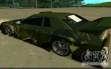 Покрасочная работа Pudge (Dota 2) для Elegy для GTA San Andreas вид слева
