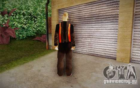 Corey Taylor Skin для GTA San Andreas второй скриншот