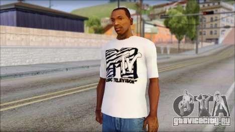 MTV T-Shirt для GTA San Andreas