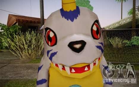 Gabumon для GTA San Andreas третий скриншот