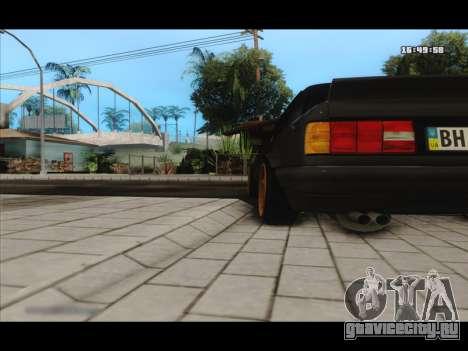 BMW e30 UDC для GTA San Andreas вид сзади