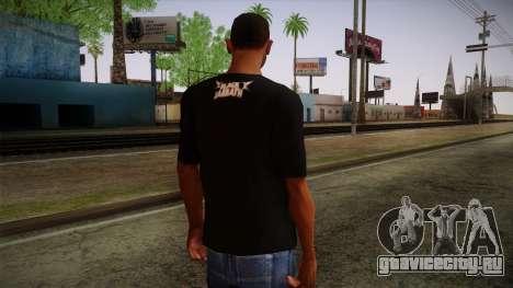 Black Sabbath T-Shirt для GTA San Andreas второй скриншот