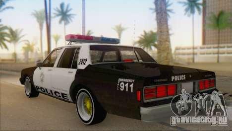 Chevrolet Caprice 1987 для GTA San Andreas вид слева