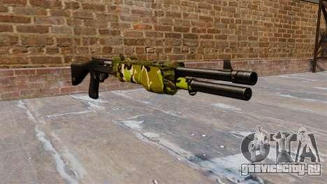 Ружьё Franchi SPAS-12 Woodland для GTA 4
