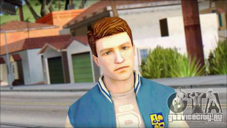 Ted from Bully Scholarship Edition для GTA San Andreas