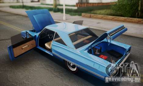 Dodge Coronet 440 Hardtop Coupe (WH23) 1967 для GTA San Andreas вид сбоку
