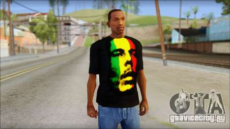 Bob Marley T-Shirt для GTA San Andreas