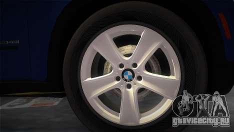 BMW X5 2009 для GTA Vice City вид сзади слева
